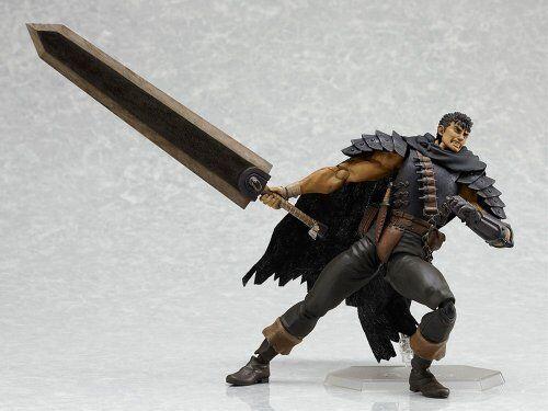 Berserk figma Guts Black Swordsman Ver. Action Figure from Japan
