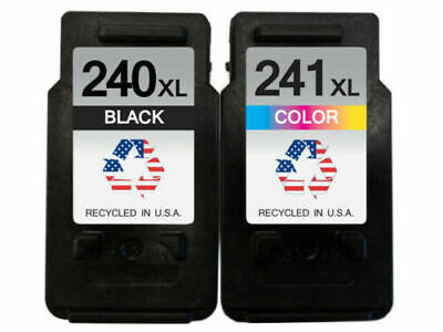 PG-240XL CL-241XL Black Color Ink Cartridge For Canon PIXMA MX512 MX522 (Pg 240 Black Cartridge Cl 241 Color Cartridge)