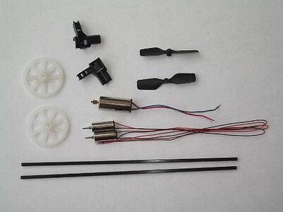 Crash Kit Per Mini Elicottero WL-Toys V911 compatibili MT100