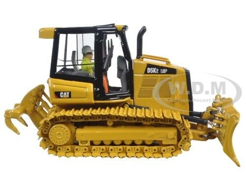 CAT CATERPILLAR D5K2 LGP TRACK TYPE TRACTOR DOZER 1/50 BY DIECAST MASTERS 85281