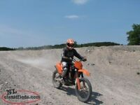 Well maintained KTM 250 SFX