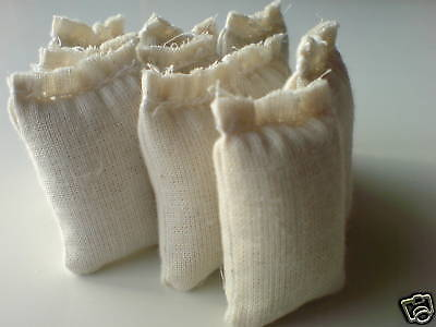 30 gefüllte Ladegut Säcke für die LGB Bahn Spur G (45mm) als Deko oder Zubehör