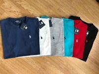 Ralph Lauren Mens Custom Fit POLO Short Sleeve T-Shirts