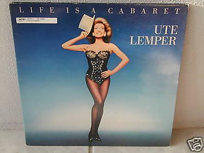 "****UTE LEMPER""LIFE IS A CABARET""-12""Inch LP*****"