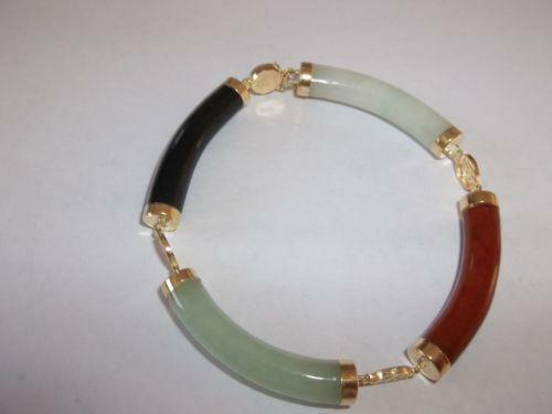 14k jade bracelet ebay for Pictures of jade jewelry