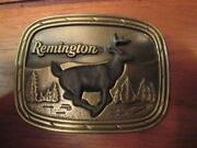 Remington Belt Buckle
