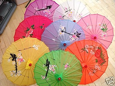 JAPANESE CHINESE S COLOR PARASOL DANCE WEDDING DANCE FANCY GIRL PARTY UMBRELLA