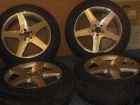 Mercedes Benz ML Original Silver Alloy Wheels & Tyres A166401190