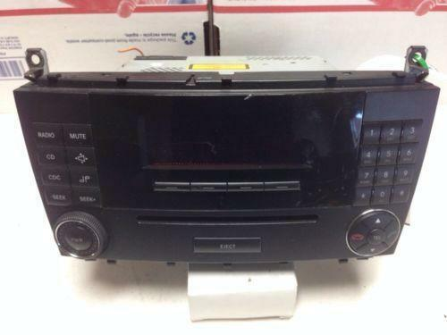 Mercedes c230 radio ebay for Code for mercedes benz radio
