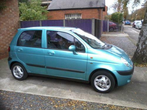 Chevrolet Matiz Manual