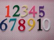 Felt Numbers