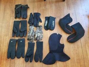 Misc. Scuba Gear - Gloves, Boots, Knives, Weights, etc.