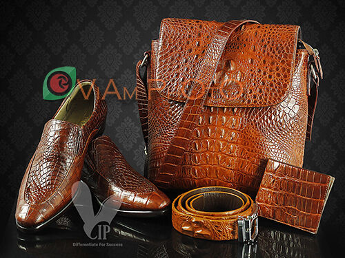 Crocodile Leather lazadavnvn999