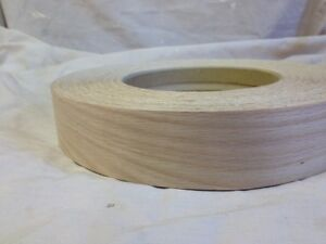 red oak iron on edging pre glued real wood veneer tape. Black Bedroom Furniture Sets. Home Design Ideas