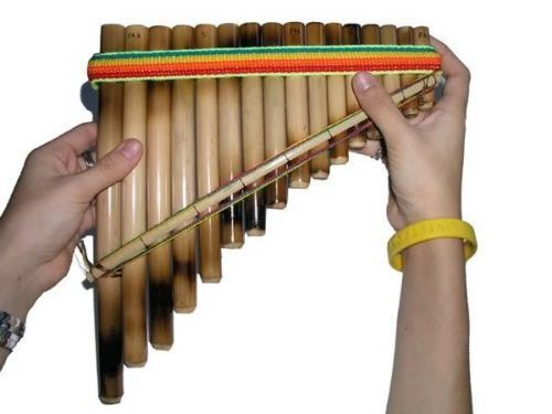 new antara panflute 16 bamboo pipes andean style beginners easy to learn 1 row