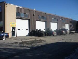 Laval, local, entrepôt et terrain à louer