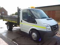 2009 FORD TRANSIT TIPPER 115 BHP 1 OWNER 118,000 MILES FULL SERVICE HISTORY