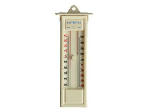 how to read min max thermometer