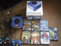 NINTENDO GAMECUBE - I am looking for games, a console, and any accessories.