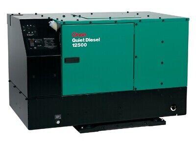 Cummins Onan Generator - Rv Qd 12500 - Quiet Diesel