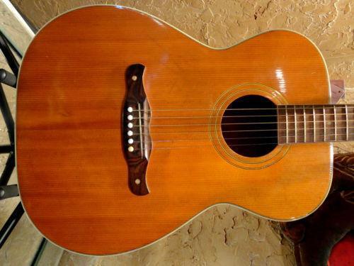 Vintage Harmony Acoustic Guitar Ebay