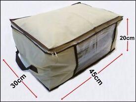 SALE*** Beige Big Storage Box Under Bed Trunk Chest Clothes Shoes Duvet Toys 45x30x20cm***