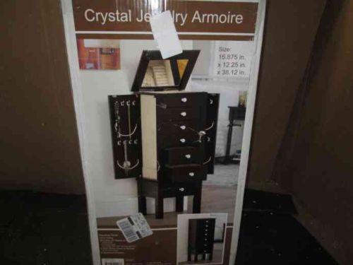 Used Jewelry Armoire Ebay