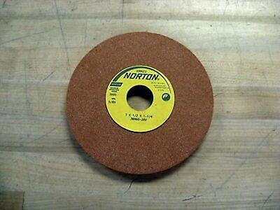 Norton 7x12x1-14 38a60j8v Grinding Wheel New