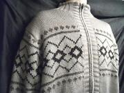 Mens Fleece Lined Cardigan