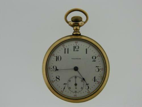 American Waltham Gold Pocket Watch Ebay