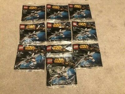 "LEGO STAR WARS LOT "" ARC-170 STARFIGHTER "" # 30247 NEW POLYBAG 10X LOT!!!"