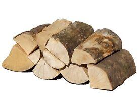 Kiln Dried Hardwood Logs, Premium Quality Firewood, Cut and Split Timber, Ready To Burn Low Moisture