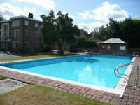 No Chain Contract/Conveyancing ready-Art Deco 3 Beds Flat with Swimming Pool, Tennis Court & Balcony