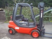 Linde H25T GAS/LPG Counterbalance forklift truck.