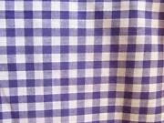 Purple Gingham Fabric