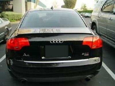 Audi A4 S4 RS4 B7 Sedan Rear Trunk Boot Spoiler Lip Wing Sport Trim Lid S Line](Lids Tracking)