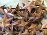 Lot 100 Rusty Barn Stars 2.25 in 2 1/4