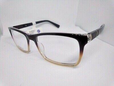 Unisex Two Tone Brown Prescription Grade Eyeglass Frames NWT (Two Tone Eyeglasses)