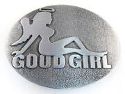 Girl Belt Buckle
