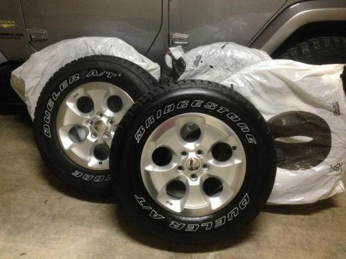 Jeep Wrangler Wheels And Tires Ebay