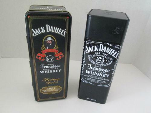 jack daniels tin ebay. Black Bedroom Furniture Sets. Home Design Ideas