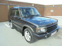 (53) 2003 Land Rover Discovery TD5 Turbo Diesel 7 Seats Full Leather Trim