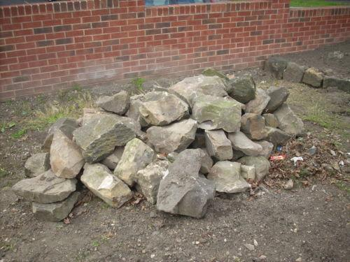 Large rockery stones landscaping garden materials ebay for Landscaping rocks pinellas county
