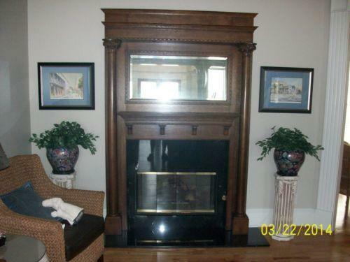 Fireplace Mirror Ebay