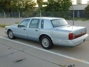1991 Lincoln Town Car Sedan, for sale or trade for small car.