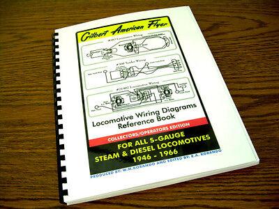 gilbert american flyer - locomotive wiring diagrams reference book - s-gauge