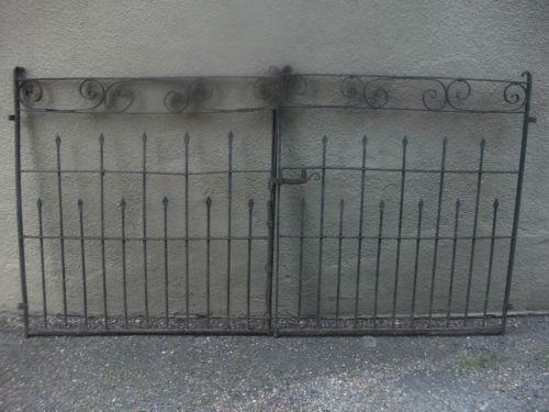 Victorian Wrought Iron Gates Ebay