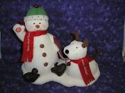 Hallmark Animated Snowman