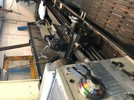 COLCHESTER MASCOT 1600 GAP BED CENTRE LATHE 80 INCHS DRO