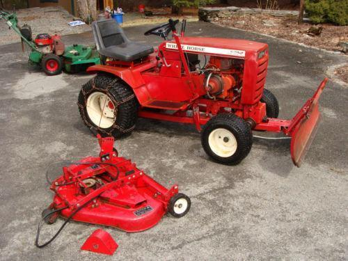 Garden tractor plow ebay for Garden machinery for sale